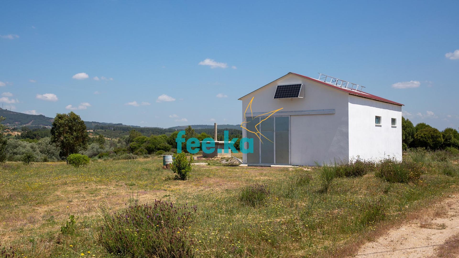 Terreno com Pavilhão Agrícola  - Fundão, Orca